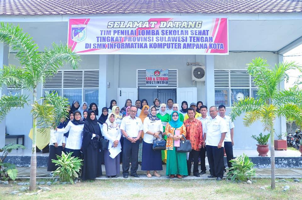 Juara I Lomba Sekolah Sehat SMK Tingkat Kabupaten Tojo Una Una 2018