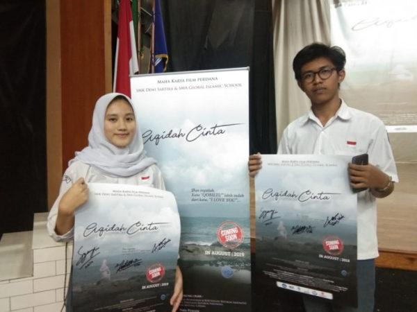 "Workshop dan Roadshow Film ""AQIDAH CINTA"", Film Bioskop buatan SMK"