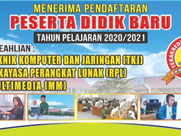 PPDB Tahun Ajaran 2021/2022 SMK Informatika Komputer Ampana Kota